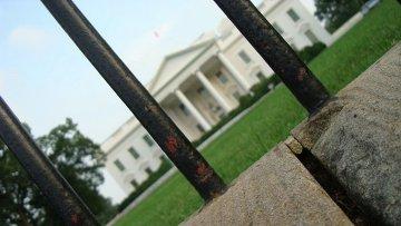 Белый дом. Вашингтон. США. Архивное фото