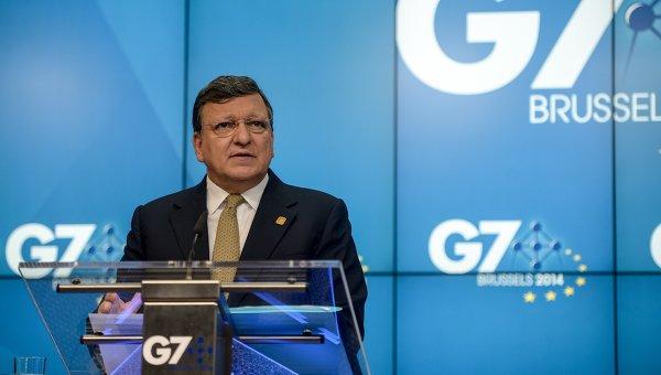 Президент Европейской комиссии Жозе Мануэль Баррозу