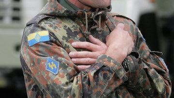Доброволец украинской армии, архивное фото