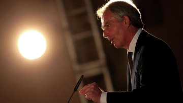 Бывший премьер-министр Великобритании Тони Блэр, архивное фото