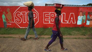 Ситуация с лихорадкой Эбола в Либерии. Архивное фото