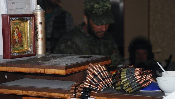 Ополченцы Донецкой народной республики. Архивное фото