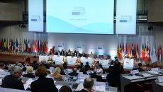 На сессии Парламентской ассамблеи Организации по безопасности и сотрудничеству в Европе (ОБСЕ). Архивное фото