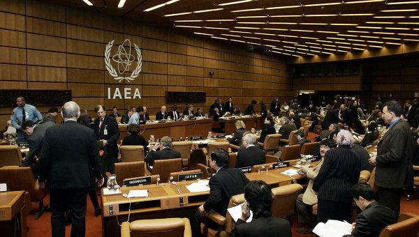 Зал заседания МАГАТЭ. Венский международный центр. Архивное фото