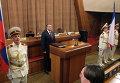 Глава Республики Крым Сергей Аксенов на заседании Государственного совета Крыма в Симферополе