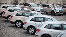 Автомобили марки Audi, архивное фото