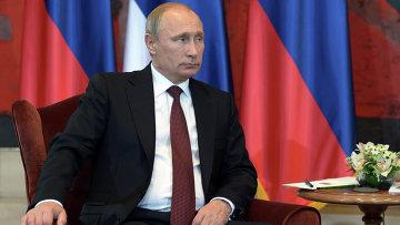 Президент России Владимир Путин в Белграде