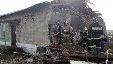 Спасательные работы на месте взрыва котельной. Архивное фото