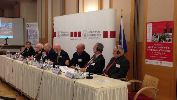 Участники конференции Кремль и падение железного занавеса в Вене