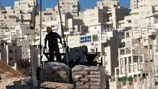 Строительство в Восточном Иерусалиме. Архивное фото.