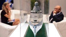 Стенд компании ОСК (объединенная судостроительная корпорация). Архивное фото