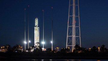 Ракета Antares с космическим грузовиком Cygnus