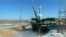 Российский Союз успешно стартовал к МКС. Кадры с космодрома Байконур