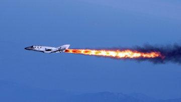 Суборбитальный корабль SpaceShip Two компании Virgin Galactic