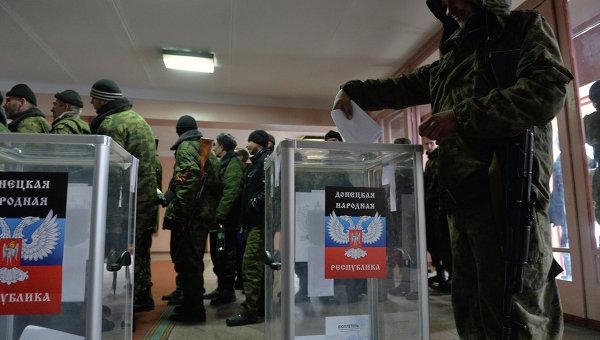 Голосование в ДНР. Архивное фото