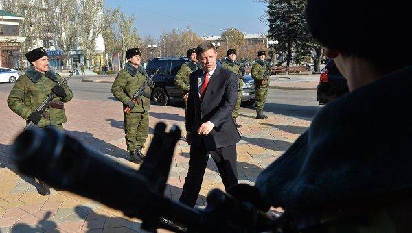 Инаугурация главы ДНР А.Захарченко