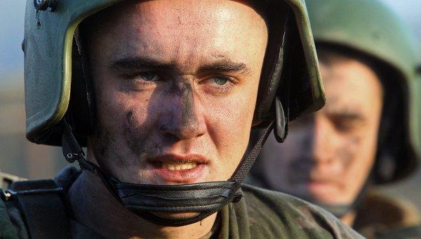 Служащие белорусского спецназа. Архивное фото