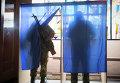 Ополченцы голосуют на выборах главы ДНР и депутатов Народного Совета республики