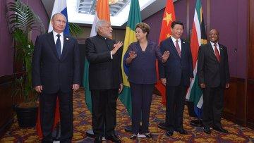 Встреча глав государств и правительств стран-участниц БРИКС