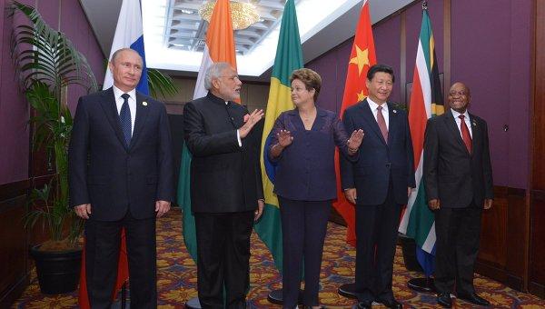 Лидеры стран БРИКС. Архивное фото
