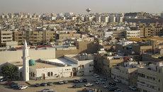 Вид города Эр-Рияд. Архивное фото.