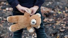 Бездомный ребенок. Архивное фото