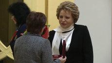 Посмертные награды погибших на Украине журналистов вручили их родственникам