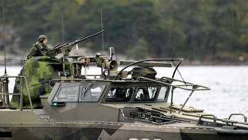 Военный ВМФ Швеции. Архивное фото
