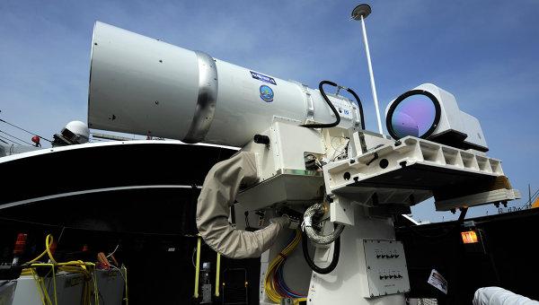 ВМС США установили лазерную пушку для сбивания дронов