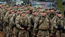 Солдаты Британской армии. Архивное фото