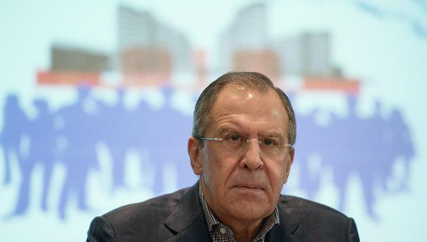 Заседание Ассамблеи Совета по внешней и оборонной политике России с участием министра иностранных дел С.Лаврова