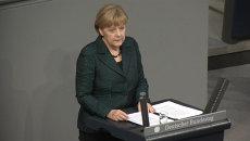 Меркель объяснила, почему санкции против РФ остаются в силе