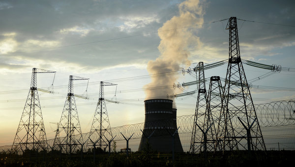 Электроэнергетика. Архивное фото