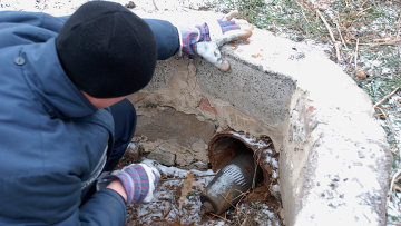 Обезвреживание снарядов на Донбассе. Архивное фото