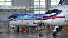 Центр подготовки персонала самолёта Sukhoi Superjet 100. Архивное фото