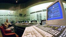 Центральный пульт Запорожской атомной электростанции. Архивное фото