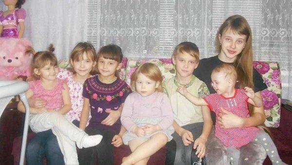 Семья Дудыревых