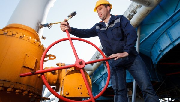 Объект газотранспортной системы. Архивное фото