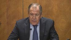 Глава МИД РФ Сергей Лавров о негативном тренде цветных революций