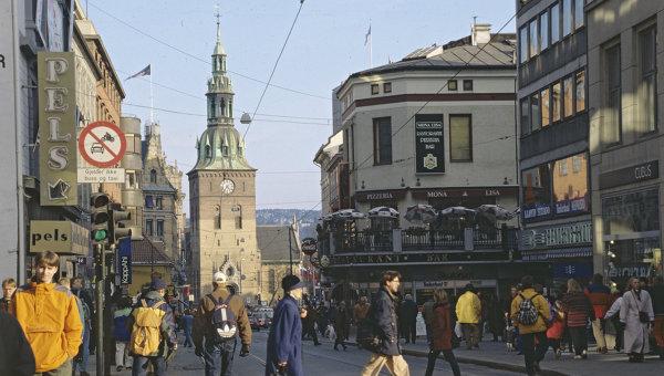 Город Осло, столица Норвегии. Архивное фото