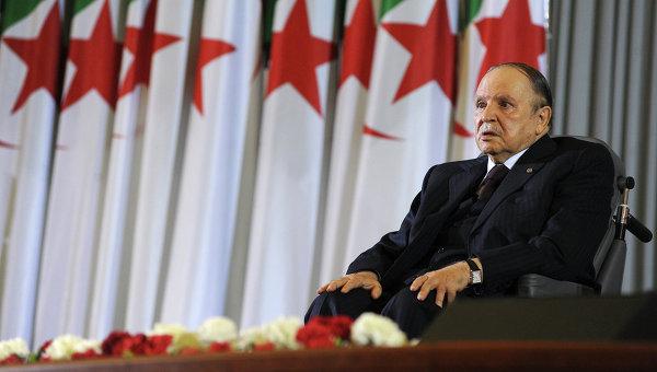 Президент Алжира Абдель Азиз Бутефлика. Архивное фото