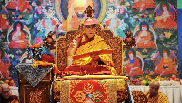 Далай-лама, учения для российских паломников в Дели, декабрь 2014