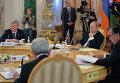 Президент России Владимир Путин на заседании ОДКБ