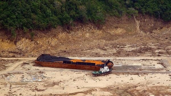Последствия цунами 2004 года в Юго-Восточной Азии. Архивное фото