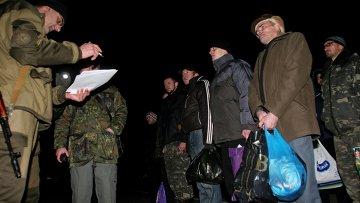 Обмен пленными между ополченцами и силовиками состоялся в пригороде Донецка. Архивное фото
