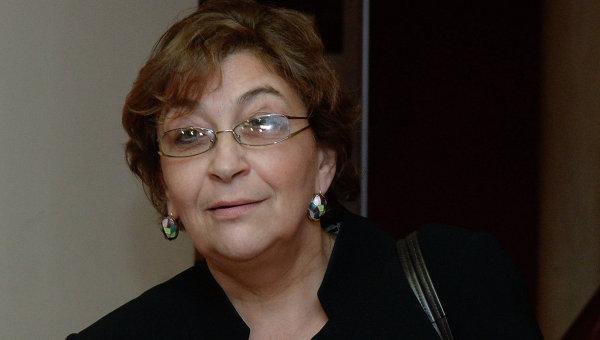 Главный редактор журнала The New Times Евгения Альбац. Архивное фото