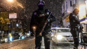 Взрыв в полицейском участке в Стамбуле