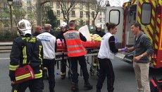 Один из раненых при стрельбе в офисе издания Charlie Hebdo