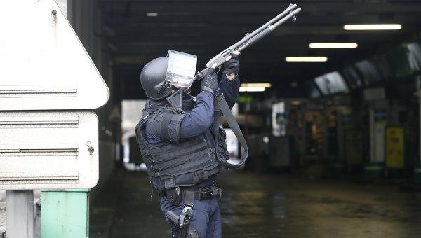 Французская полиция, архивное фото