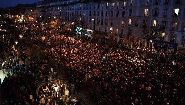 Марш единства в Париже